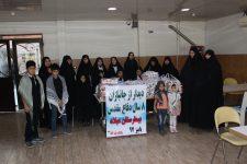 بازدید بسیج خواهران پایگاه بقیه الله (عج) استان البرز
