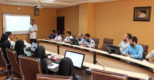 آموزش بهداشت محیط با هدف رعایت نظافت دست و مدیریت پسماند های بیمارستان میلاد شهریار