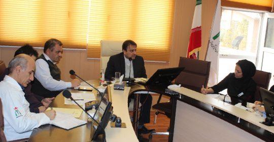 نشست مدیریت اطلاعات سلامت در بیمارستان میلاد شهریار