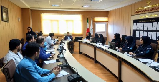 آموزش مبانی مدیریت بحران در بیمارستان میلاد شهریار
