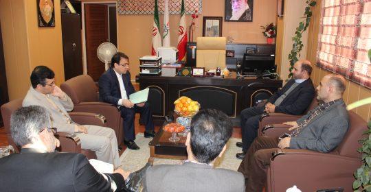 برگزاری جلسه هیئت مدیره در بیمارستان میلاد شهریار