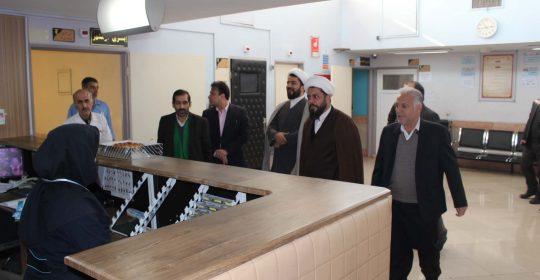 ستاد اقامه نماز جمعه شهریار مهمان بیمارستان میلاد این شهر