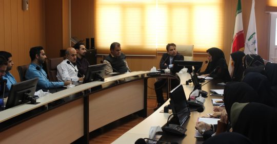 جلسه کمیته پایش و بهبود کیفیت بیمارستان میلاد