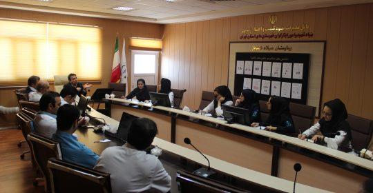 کمیته تغذیه بیمارستان میلاد شهریار