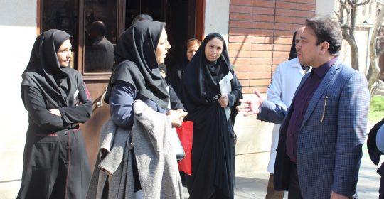 بیمارستان میلاد شهریار هدف بازدید شبکه بهداشت و درمان