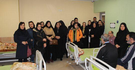 دانشجویان پیام نور در بیمارستان میلاد شهریار
