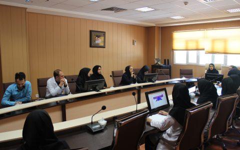 کلاس آموزش آشنایی با بیماری حصبه (تیفوئید) در بیمارستان میلاد