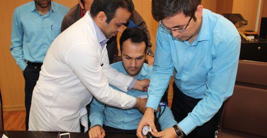 کلاس آموزش جامع فشار خون در بیمارستان میلاد شهریار