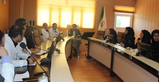 تشکیل کمیته های اورژانس، بهداشت و کنترل عفونت بیمارستان میلاد