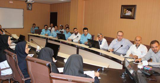 کمیته پایش بهبود کیفیت بیمارستان میلاد شهریار برگزار شد