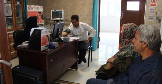 پایان طرح بسیج ملی کنترل فشارخون در بیمارستان میلاد شهریار