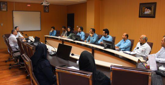 برگزاری جلسه ارتقاء فرآیندهای ثبت اسناد پزشکی در بیمارستان میلاد شهریار