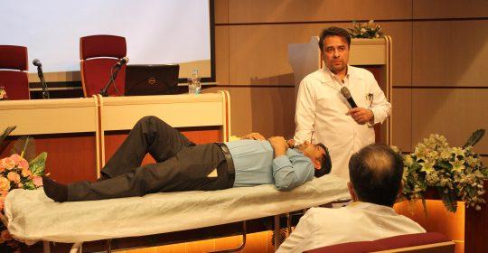 کلاس آموزشی تفسیر نوار قلب و شرح حال گیری در بیمارستان میلاد شهریار برگزار شد