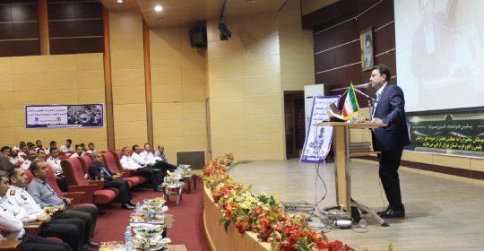 حضور ریاست بیمارستان میلادشهریار در همایش تجلیل از راهور غرب استان تهران
