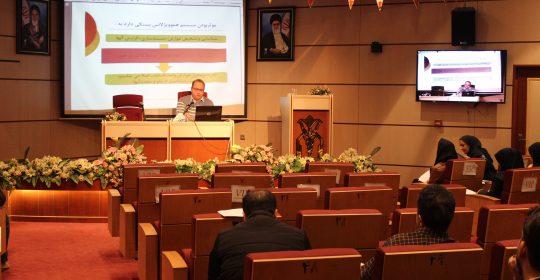 برگزاری کلاس مراقب از خون در بیمارستان میلاد شهریار