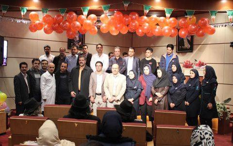 جشن روز پرستاران در بیمارستان میلاد شهریار