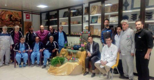 پیام تبریک فرا رسیدن سال جدید توسط ریاست بیمارستان میلاد شهریار
