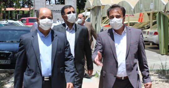 جلسه هیئت مدیره بیمارستان میلاد شهریار برگزار شد