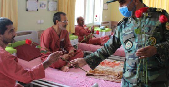 حضور امیر فرشاد حشمتی فرمانده پدافند ارتش در بیمارستان میلاد شهریار