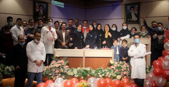 برگزاری جشن روز پرستار در بیمارستان میلاد شهریار