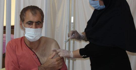 مرحله جدید واکسیناسیون در بیمارستان میلاد شهریار صورت گرفت