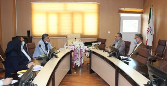 برگزاری جلسه بیمارستان میلادشهریار با حضور رئیس بنیاد شهیدهای شهریار،قدس و ملارد