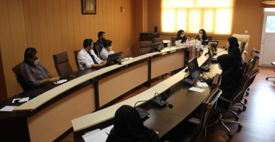 کلاس آموزشی غلبه بر اضطراب در بیمارستان میلادشهریار برگزار شد