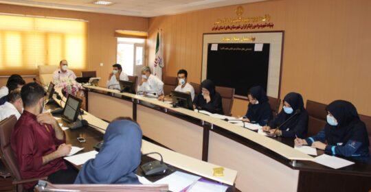 برگزاری کلاس آموزشی مراقبت از خون در بیمارستان میلاد شهریار