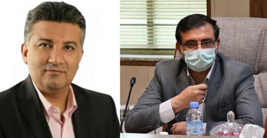 دیدار ریاست بیمارستان میلاد شهریار با نماینده مجلس شورای اسلامی