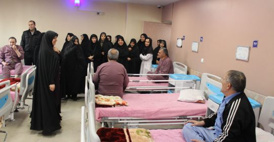 بسیج خواهران حوزه رافت اسلامشهر دربیمارستان میلاد شهریار