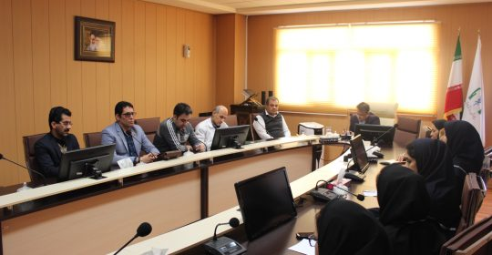 جلسه کمیته دفتر پرستاری بیمارستان میلاد شهریار