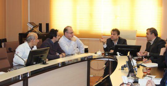 جلسه کنترل عفونت بیمارستان میلاد شهریار