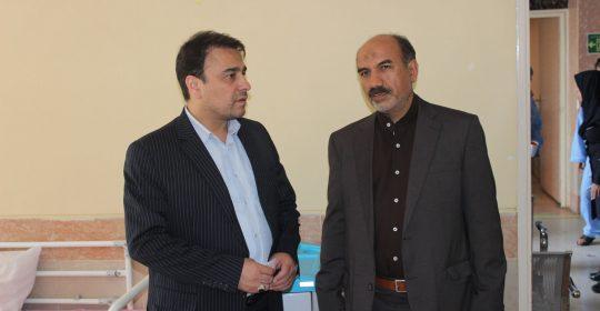 افتخار بیمارستان میلاد شهریار خدمت به ایثارگران است