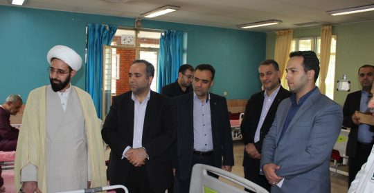 دیدار هیئت مدیره بانک رفاه کارگران از بیمارستان میلاد شهریار