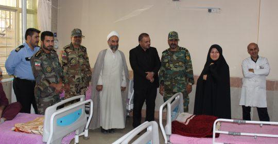 پدافند ارتش در بیمارستان میلاد شهریار