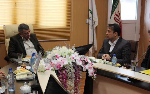 جلسه قائم مقام وزیر بهداشت کشور در بیمارستان میلاد شهریار