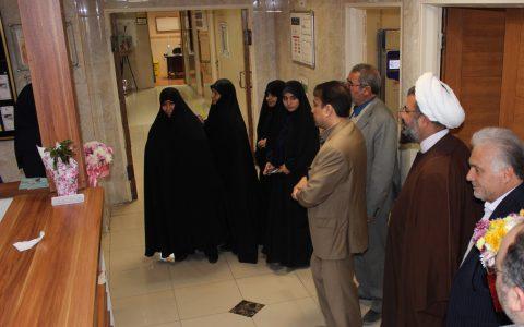 حضور نمایندگان ولی فقیه به مناسبت روز پرستار در بیمارستان میلاد شهریار