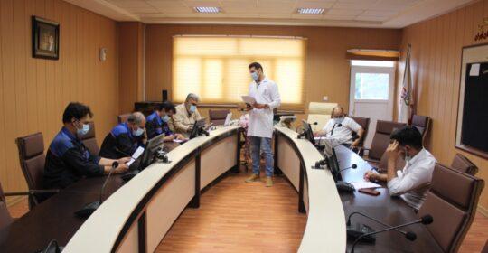 کلاس آموزش بهداشت در بیمارستان میلادشهریار برگزار شد