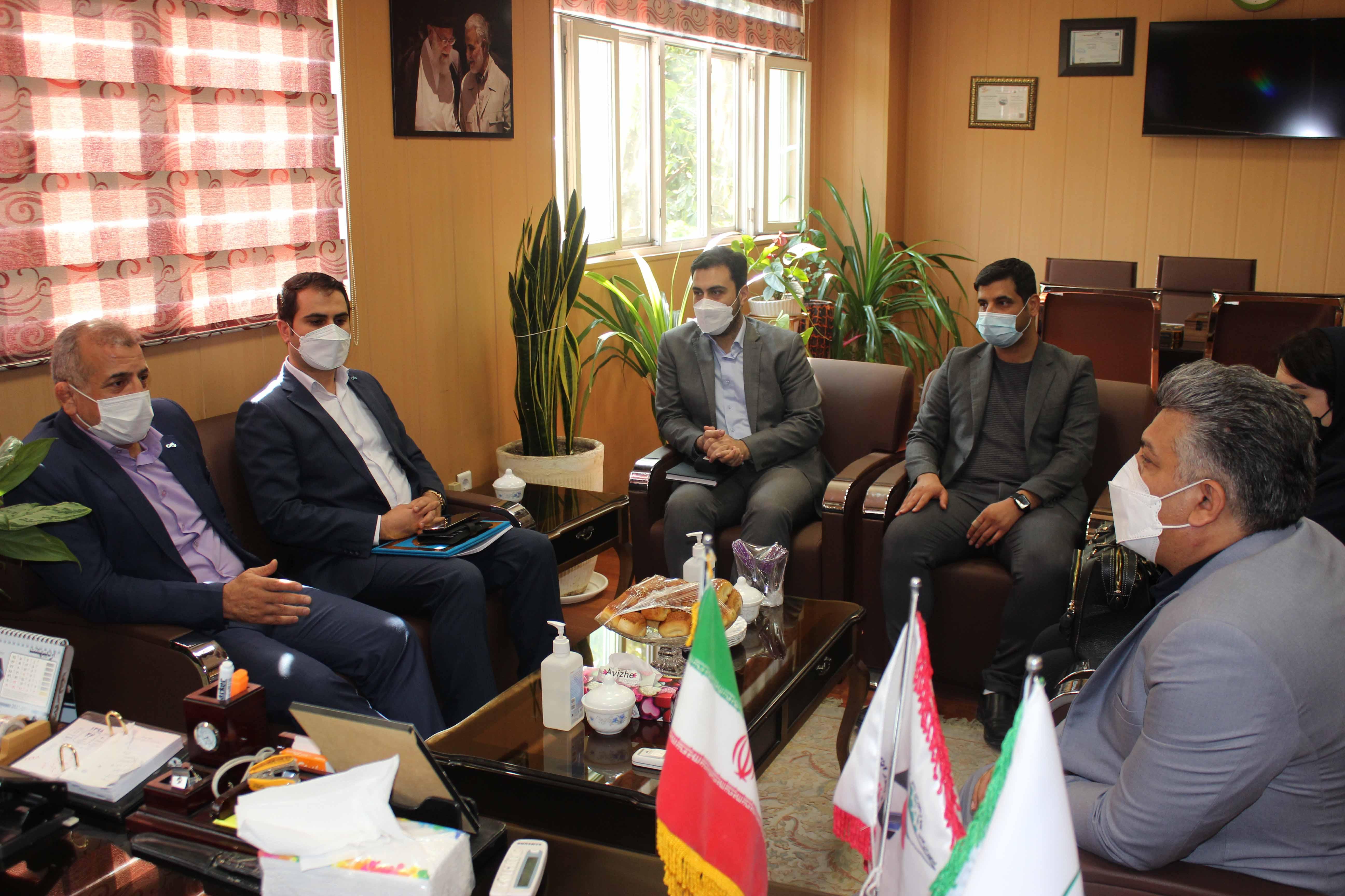 دیدار مدیران ارشد بانک دی از بیمارستان میلاد شهریار